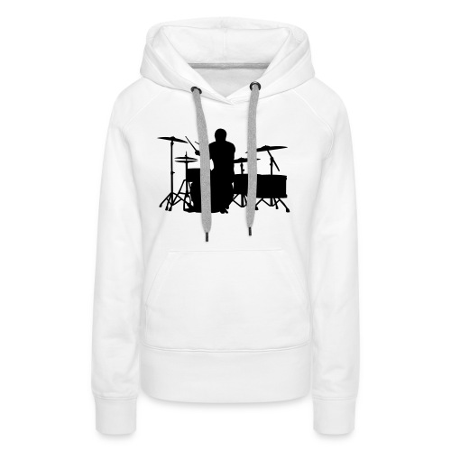 Glatze Drummer on Greater Set - Frauen Premium Hoodie
