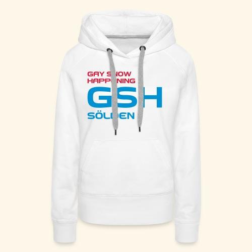 GSH_Logo_vector_hoch - Frauen Premium Hoodie
