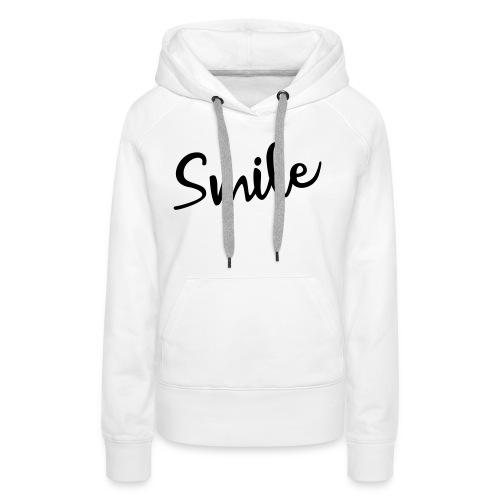 Smile - Frauen Premium Hoodie
