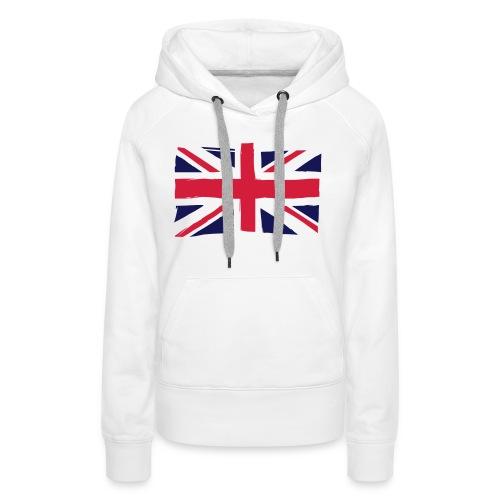 vlag engeland - Vrouwen Premium hoodie