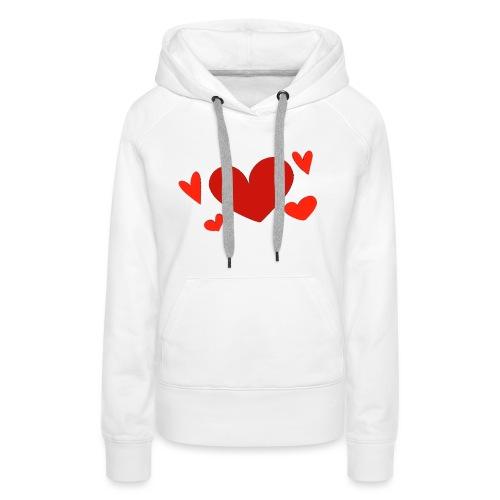 Five hearts - Women's Premium Hoodie
