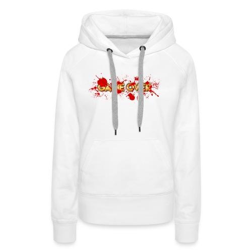 game over - Sweat-shirt à capuche Premium pour femmes