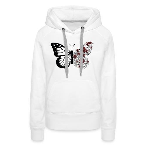 Monarque - Sweat-shirt à capuche Premium pour femmes