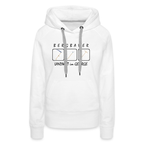 Bergbauer - Frauen Premium Hoodie