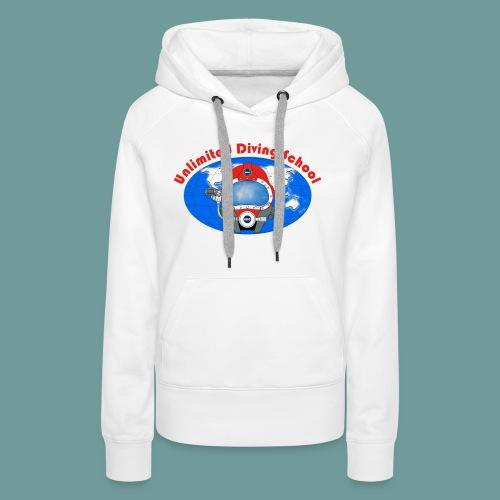 Ts Bi10Tx 02 - Sweat-shirt à capuche Premium pour femmes