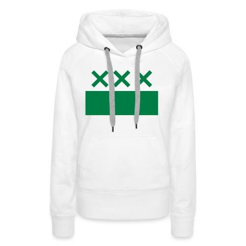groen - Vrouwen Premium hoodie