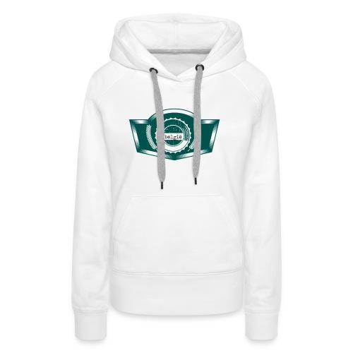 Belgium T Shirt Design(7) - Frauen Premium Hoodie