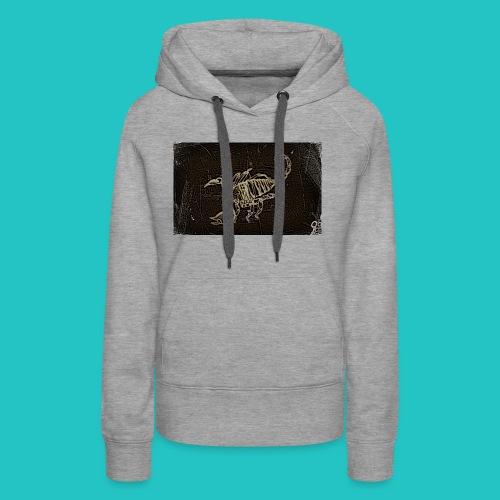 skorpion_grafika-jpg - Bluza damska Premium z kapturem