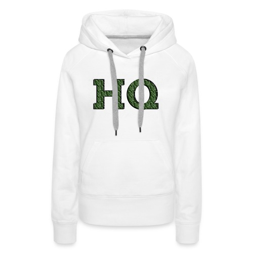 HQ LOGO 4 - Vrouwen Premium hoodie