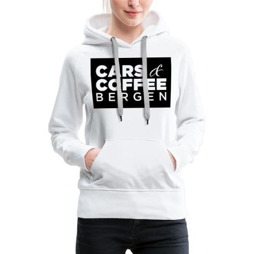 Cars & Coffee Bergen Logo_Boks - Premium hettegenser for kvinner