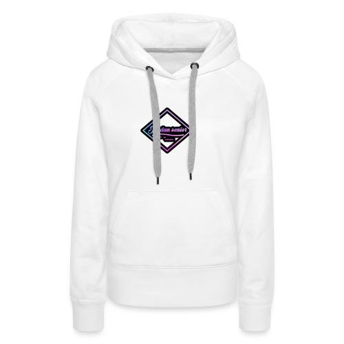 jordan sennior logo - Women's Premium Hoodie