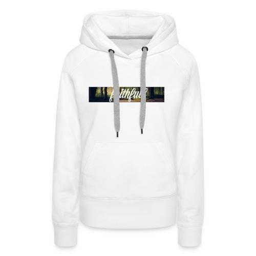 faithfullt-shirt trees - Vrouwen Premium hoodie