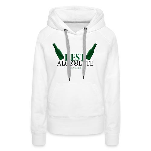 Alcoolyte ! - Sweat-shirt à capuche Premium pour femmes