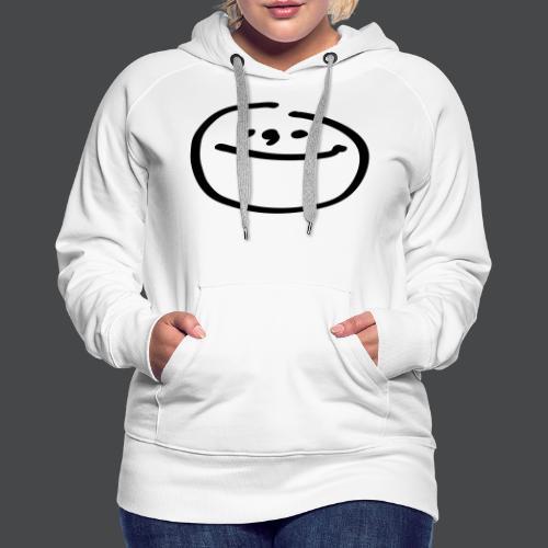 mondgesicht - Frauen Premium Hoodie