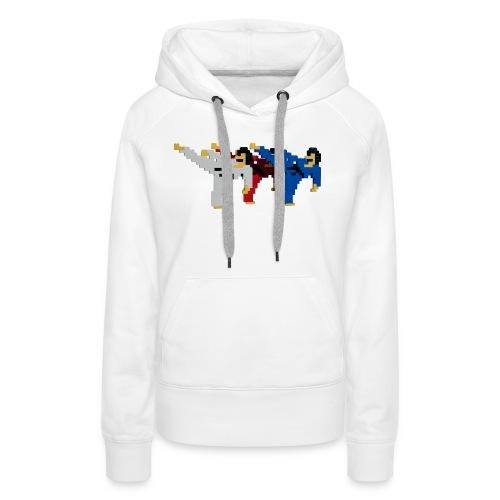 8 bit trip ninjas 2 - Women's Premium Hoodie