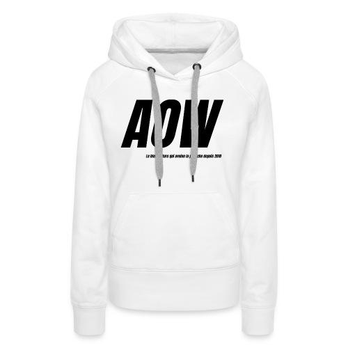 AOW 2021 - Sweat-shirt à capuche Premium pour femmes