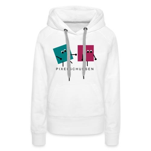 pixelschubsen - Frauen Premium Hoodie