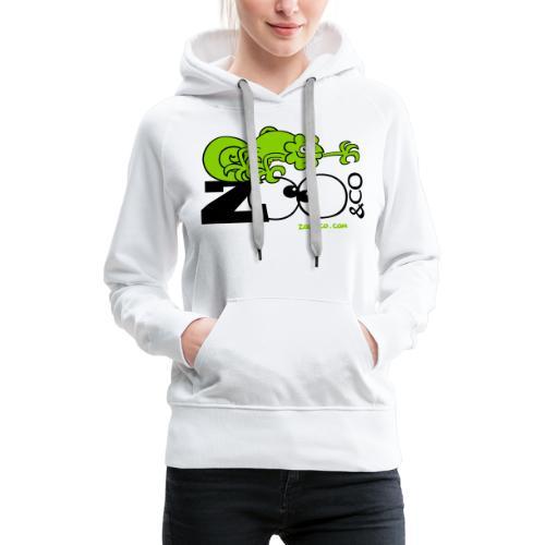 Zooco Chameleon - Women's Premium Hoodie