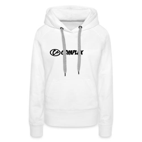 complex hoodie - Dame Premium hættetrøje