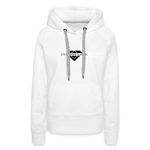 STRAIGHTEN CLASSIC - Frauen Premium Hoodie