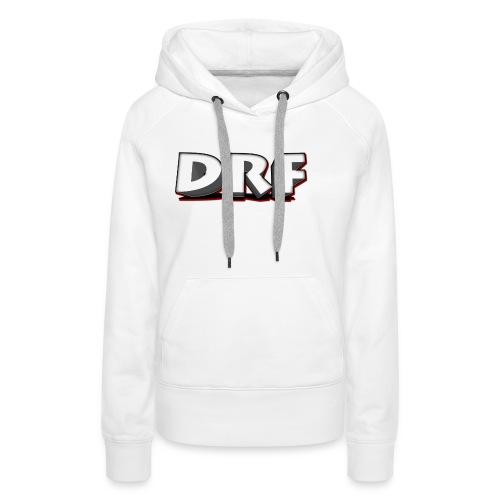 T-Shirt met het DRF logo - Vrouwen Premium hoodie