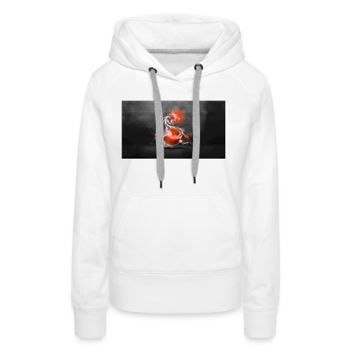 dark dragons jpg - Women's Premium Hoodie