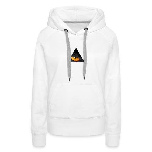 BLACK CAT EYE - Vrouwen Premium hoodie