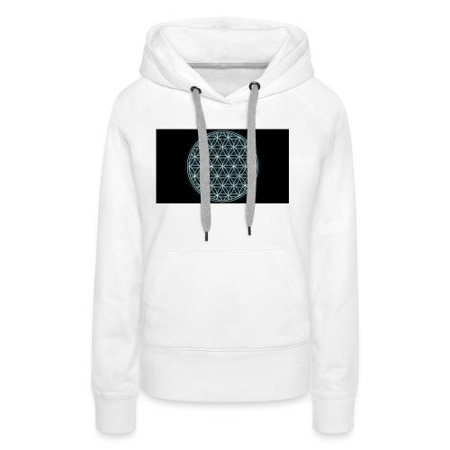 flower of life - Vrouwen Premium hoodie