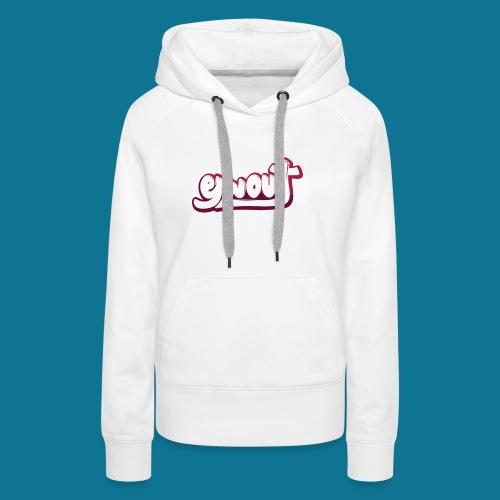 T-shirt (tienermaten) - Vrouwen Premium hoodie