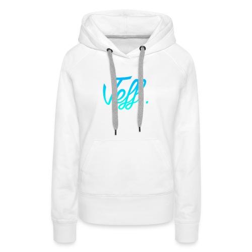 Jeff. 6/6s Hoesje - Vrouwen Premium hoodie