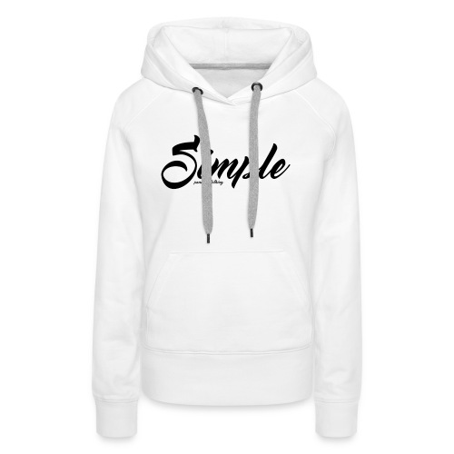 Simple: Clothing Design - Women's Premium Hoodie