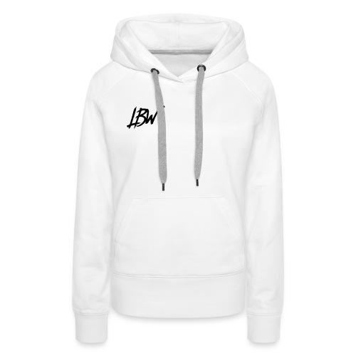 WHITE LBW T-SHIRT - Women's Premium Hoodie