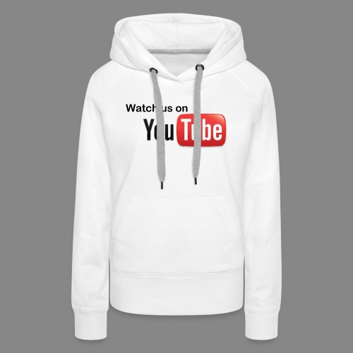 youtube hd logo by marcosrstone d37ot4e png - Vrouwen Premium hoodie