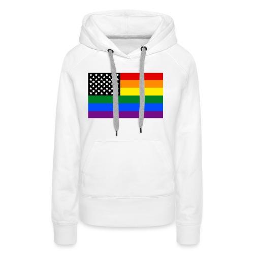 Pride USA Ladies - Women's Premium Hoodie
