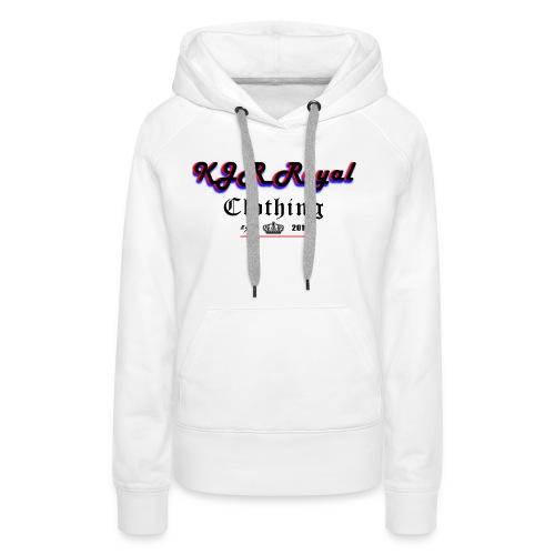 KJRRoyal T-shirt Special Design - Women's Premium Hoodie