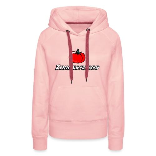 ZONGEDROOGD - Vrouwen Premium hoodie