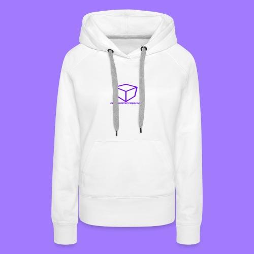 curtdoespcgaming logo #2 - Women's Premium Hoodie