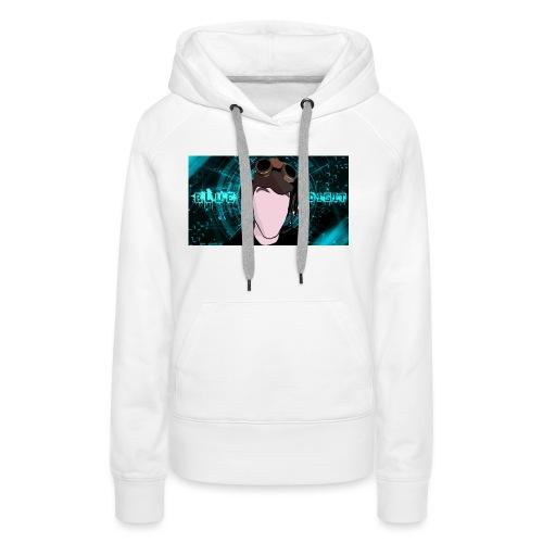 BlueDigit Sweatshirt - Women's Premium Hoodie