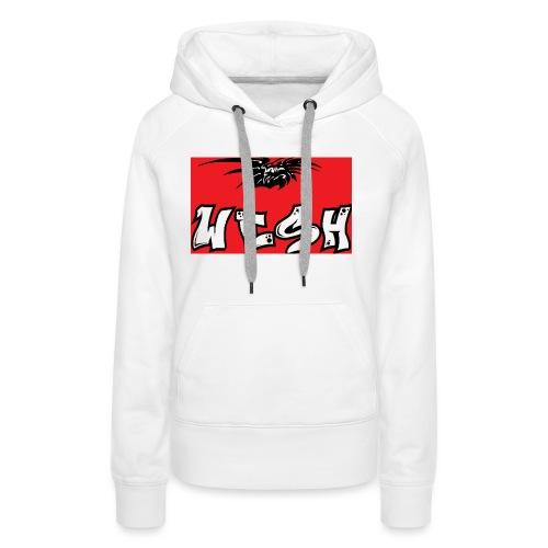 Wesh - Sweat-shirt à capuche Premium pour femmes
