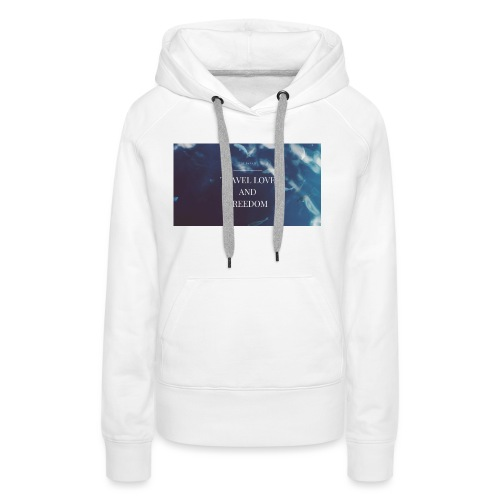 LIFESTYLE - Sweat-shirt à capuche Premium pour femmes