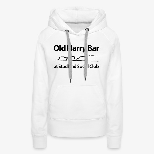 Old Harry Bar logo - black - Women's Premium Hoodie