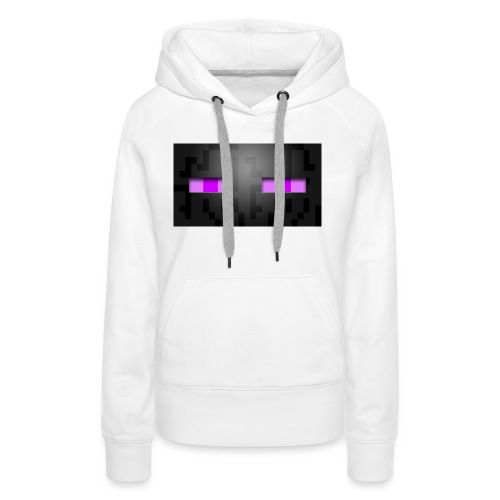 the enderman - Sweat-shirt à capuche Premium pour femmes