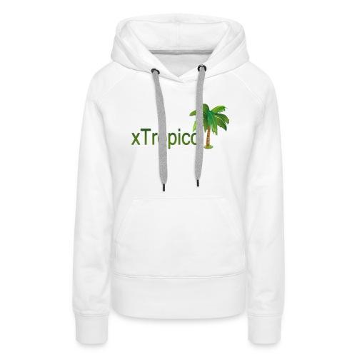 tropicc - Sweat-shirt à capuche Premium pour femmes