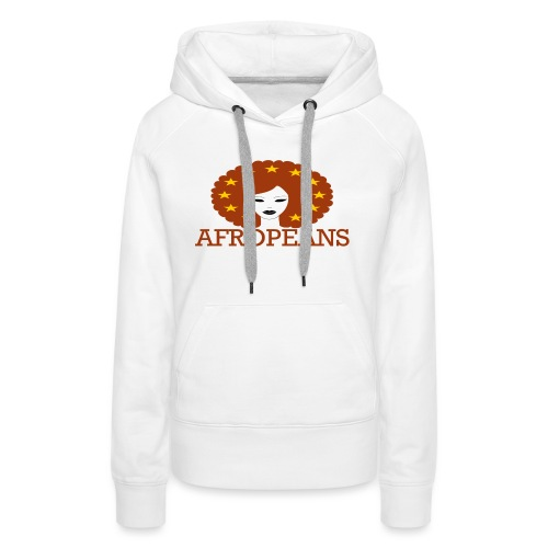 Afropeans Terracota - Vrouwen Premium hoodie