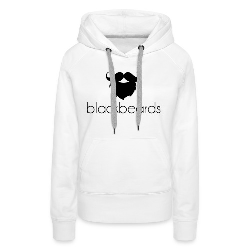 blackbeards logo_schwarz - Frauen Premium Hoodie