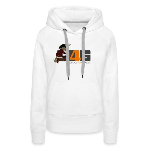 Tshirt 01 png - Frauen Premium Hoodie