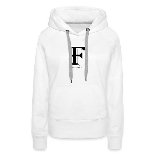 FOriginalsNoBack png - Sweat-shirt à capuche Premium pour femmes
