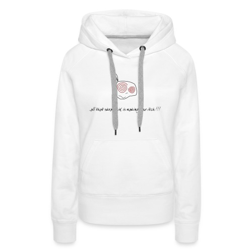 DJ DJing Scratch Turntables Hip Hop Battle Vinyl - Frauen Premium Hoodie