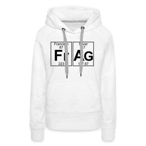 Fr-Ag (frag) - Full - Women's Premium Hoodie