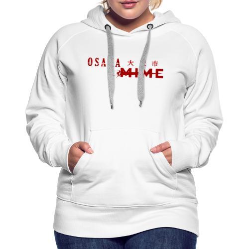 Osaka Mime Logo - Women's Premium Hoodie